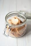 Biscuit dans le choc Photographie stock libre de droits