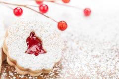 Biscuit de Bell de Noël Photographie stock