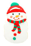 Biscuit de bonhomme de neige Photo stock