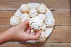 Biscuit de céréale de flocon d'avoine Image libre de droits
