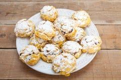 Biscuit de céréale de flocon d'avoine Photo libre de droits