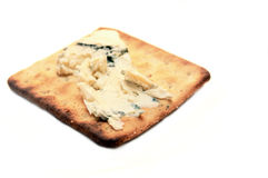 Biscuit de casseur avec du fromage Photo stock