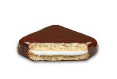 Biscuit de chocolat Photographie stock