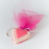 Biscuit de coeur Photo stock