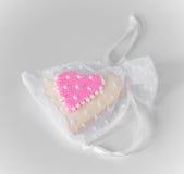 Biscuit de coeur Image stock