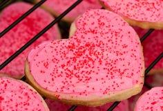 Biscuit de coeur Images libres de droits