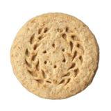 Biscuit de farine d'avoine photographie stock libre de droits