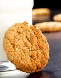 Biscuit de farine d'avoine Photographie stock