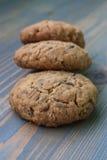 Biscuit de farine d'avoine Images libres de droits