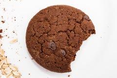 Biscuit de farine d'avoine Photo stock