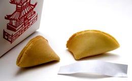 Biscuit de fortune Photos libres de droits