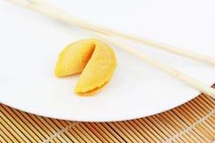 Biscuit de fortune Photographie stock libre de droits
