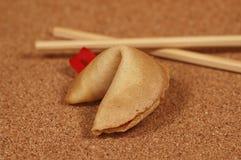 Biscuit de fortune Photos stock