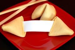 Biscuit de fortune Images libres de droits