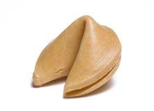 Biscuit de fortune sur le blanc Image libre de droits