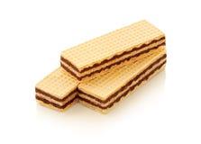 Biscuit de gaufrette Photos libres de droits