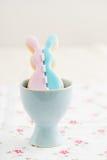 Biscuit de lapin de Pâques Image stock