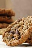 Biscuit de macadamia de puce de chocolat Photo stock