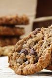Biscuit de macadamia de puce de chocolat Photographie stock