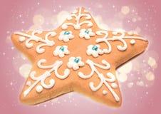 Biscuit de Noël Photo stock
