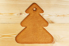 Biscuit de pain d'épice de Noël Photo libre de droits
