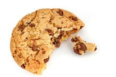 Biscuit de puce de chocolat Photos libres de droits