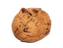 Biscuit de puce de chocolat photo stock