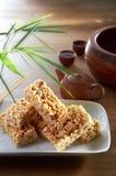 Biscuit de riz photographie stock