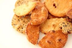 Biscuit de riz Photo stock