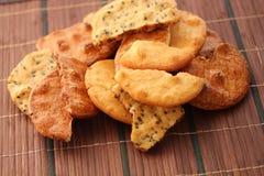 Biscuit de riz Photos libres de droits