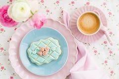 Biscuit de sucre Images libres de droits