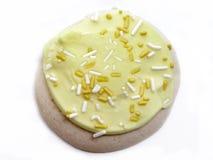 Biscuit de sucre de citron Image libre de droits