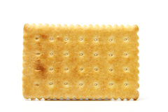 Biscuit. Delicious biscuit isolated on the white background Royalty Free Stock Image