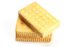 Biscuit. Delicious biscuit isolated on the white background Stock Photography