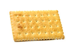Biscuit. Delicious biscuit isolated on the white background Royalty Free Stock Photos