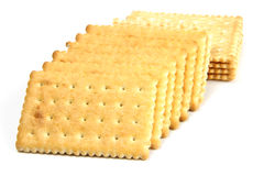 Biscuit. Delicious biscuit isolated on the white background Stock Images