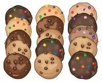 Biscuit display Stock Photos