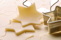 Biscuit dough Royalty Free Stock Photography