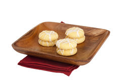 Biscuit dough Royalty Free Stock Photos