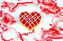 Biscuit du jour de Valentine Images stock