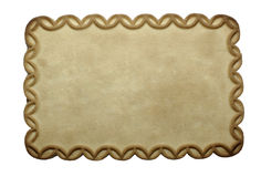 Biscuit with empty space. Royalty Free Stock Image