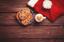 Biscuit et tasse Images stock
