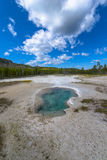 Biscuit Geyser Basin Royalty Free Stock Photos