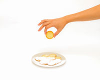 Biscuit by handle. Royalty Free Stock Image