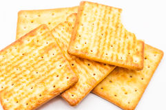 Biscuit. Isolated on white background Royalty Free Stock Images