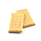 Biscuit. Isolated on white background Royalty Free Stock Image