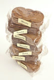 Biscuit packages for every day. Snack portion Stock Photography
