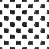 Biscuit pattern vector Royalty Free Stock Photography