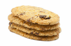 Biscuit with raisins Royalty Free Stock Images