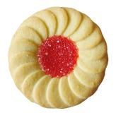 Biscuit rempli par gelée Image libre de droits